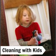 Spring Cleaning With a Toddler Challenge: Day 1