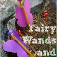 Fairy Wands and Toadstools