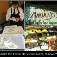 A Mariano's Mama Says Happy Anniversary to Her Favorite Grocery Store