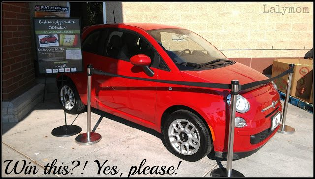 #SHOP Win a Fiat- Live Well Sweepstakes #MYMARIANOS #CBIAS