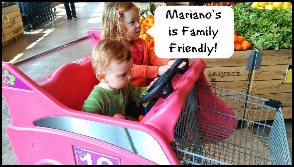 #MyMarianos family friendly Lalymom