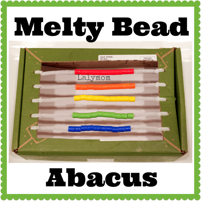 DIY Abacus With Melty Beads