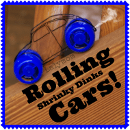 DIY Rolling Truck and Car Toys