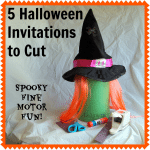 Halloween Fine Motor Skills Acitivities to Encourage Cutting Practice from Lalymom