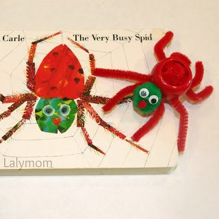 Scissor Practcie Activity for Kids Using The Very Busy Spider. Cutting Practice Fun from Lalymom