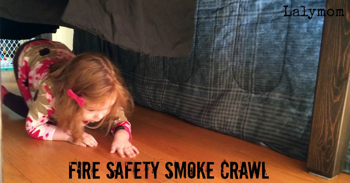 Fire Safety Smoke Crawl - 3 Fire Safety Activities for Kids. Fun for a classroom or home!