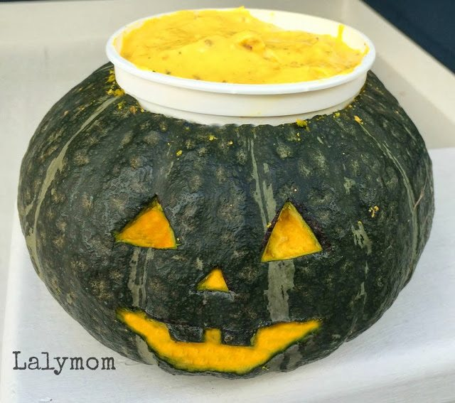 Seasonal Winter Squash Frozen Yogurt Jack o Lantern #MyMarianos #cbias #shop