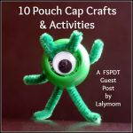 Pouch Cap Craft Ideas from Lalymom