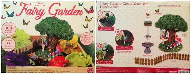 Fairy Garden Kit Pretend Play and Review