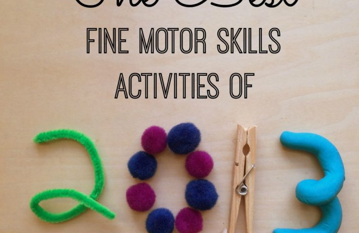 The Best Fine Motor Skills Activities of 2013 (A Fine Motor Fridays Linky!)
