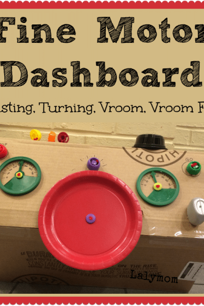 Fine Motor Skills Activity Dashboard for Kids