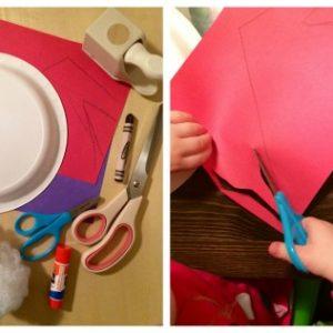 Santa Scissors Skills Cutting Activity for Preschoolers from Lalymom