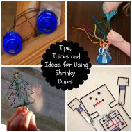 Tips and Ideas for Using Shrinky Dinks