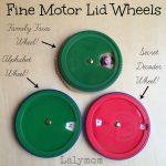 Fine Motor Skills Wheels & Volvelle Tutorial- Fine Motor Fridays
