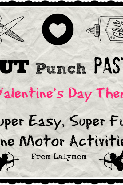 Valentine's Day Cutting Practice Activities- Fine Motor Fridays