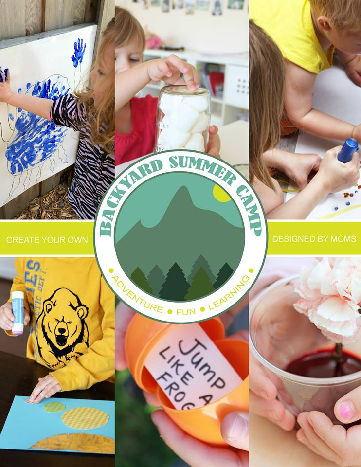 Make it the BEST SUMMER EVER from the comfort of your own back yard with this 6 week DIY summer camp for kids!