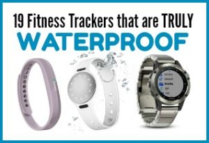 19 Fitness Trackers that are truly waterproof