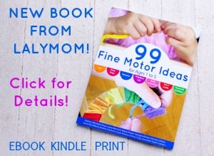 99 Fine Motor Activities Book Sidebar on Lalymom