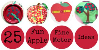 Apple Fine Motor Sidebar