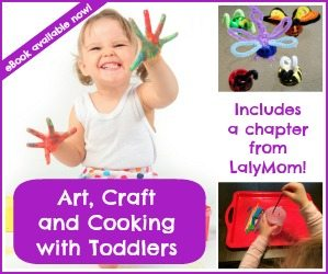 Arts and Crafts with Toddlers ebook on Lalymom
