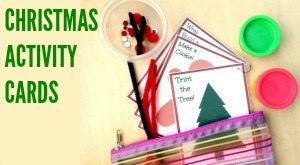 Christmas Activity Cards Sidebar