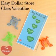 Easy Non-Candy DIY Valentine's Day Card