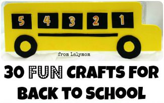 FB 30 FUN Back to School Crafts on Lalymom.com sidebar