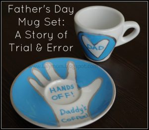 Fathers Day Mug Set DIY Tips for ceramic mugs sharpies