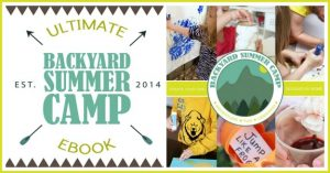 How to Throw a Back Yard Summer Camp eBook on Lalymom