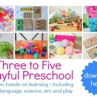 Preschool Activities – Three to Five Playful Preschool eBook