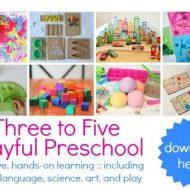 Preschool Activities – Three to Five Playful Preschool eBook