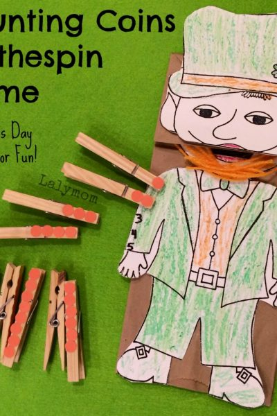St. Patrick's Day Craft for Kids- Fine Motor Fridays