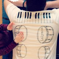 Back Massage Shirt: A Musical Massage from Your Kids!