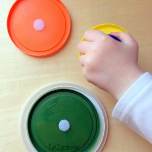 Ten DIY Velcro Fine Motor Activities for Toddlers
