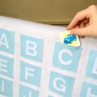 DIY Alphabet Pocket Chart