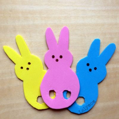Easter Games for Kids Using Peeps Finger Puppets from Lalymom #DIY #SmartMarch #EasterforKids