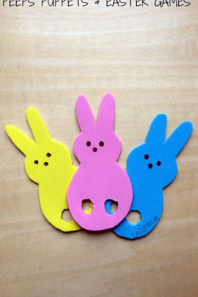 Easter Games With Peeps Finger Puppets