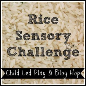 Basic Sensory Activities with Rice