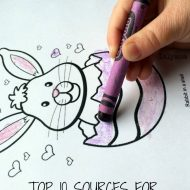Top 10 Easter Coloring Pages & Printables Sources