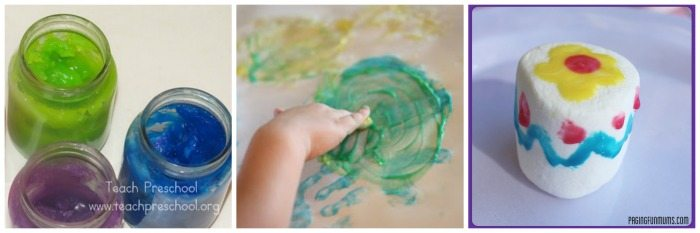 How to Make Toddler Safe Paint that you Can Eat on Lalymom