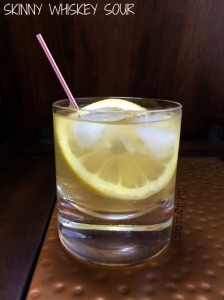 How to make a whiskey sour low calorie and low carb - Guest post from Lalymom on Makeovers and Motherhood
