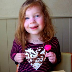 Easy Edible Paint for Kids Using Chocolate
