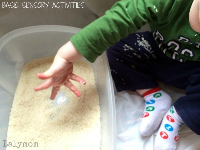 Sensory Activities for Toddlers from lalymom