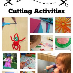 Ultimate Guide to Cutting Activities for Preschoolers and Kindergartners from Lalymom - Tips, Tricks, Projects and Must-Follow Pinterest Boards about Scissor Skills and Cutting Practice!