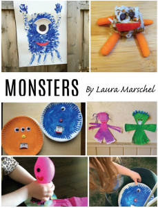 Backyard Summer Camp eBook Monsters Theme from Lalymom