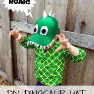 Dinosaur Crafts for Kids: DIY Dinosaur Hat
