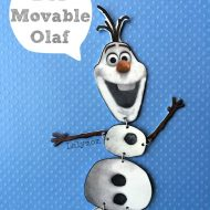 Frozen Olaf Craft: Jointed Olaf Figure