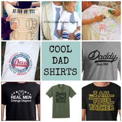 Gift Ideas for Dads Cool Shirts to Buy for Father's Day from lalymom