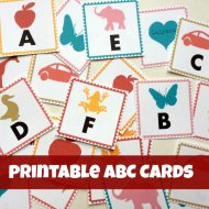 ABC Letters Printable Alphabet Cards