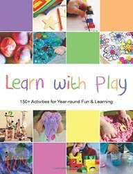 Learn With Play - awesome new book of kids activities from Lalymom